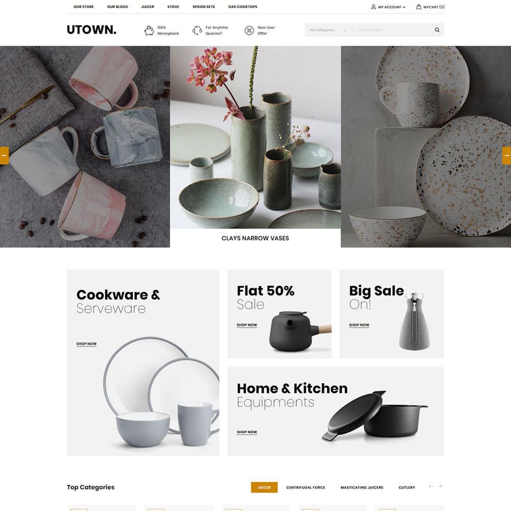 theme - Maison & Jardin - Utown - Le magasin de cuisine - 5