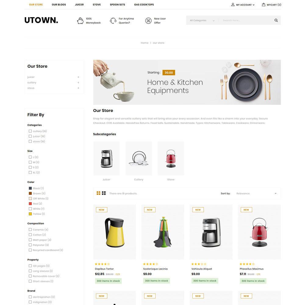 theme - Maison & Jardin - Utown - Le magasin de cuisine - 6