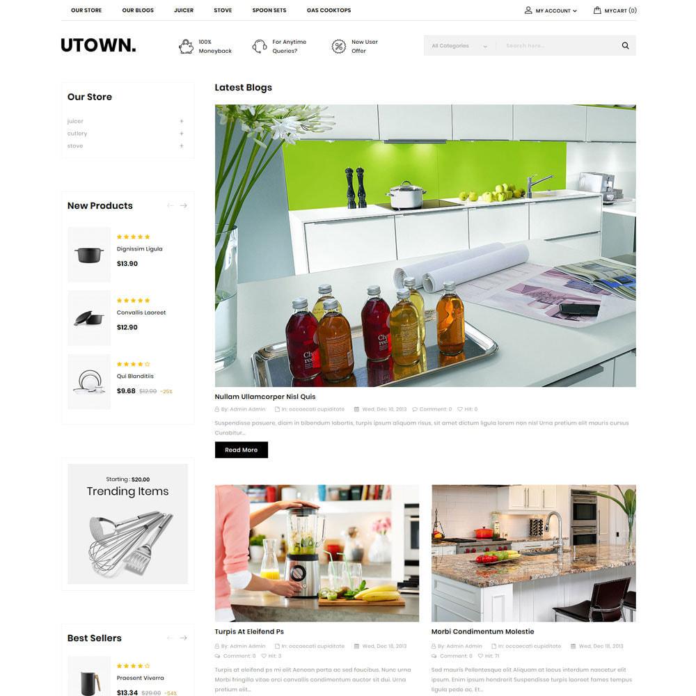 theme - Maison & Jardin - Utown - Le magasin de cuisine - 9