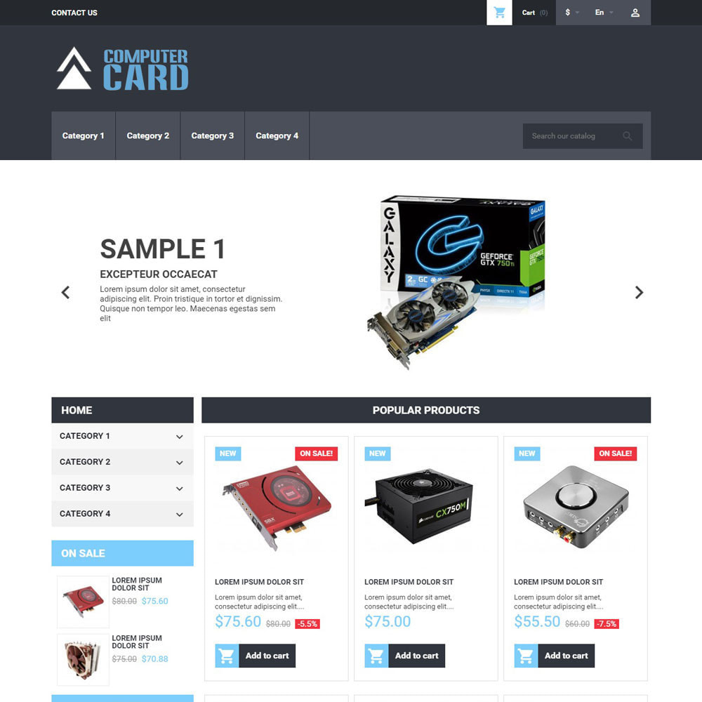 theme - Electronics & Computers - ComputerCard - 1