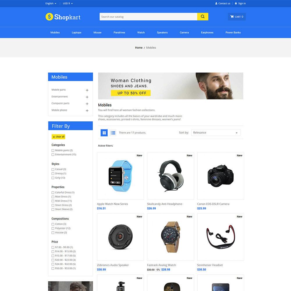 theme - Электроника и компьютеры - Shopkart Electronics - Digital Mobile Store - 3