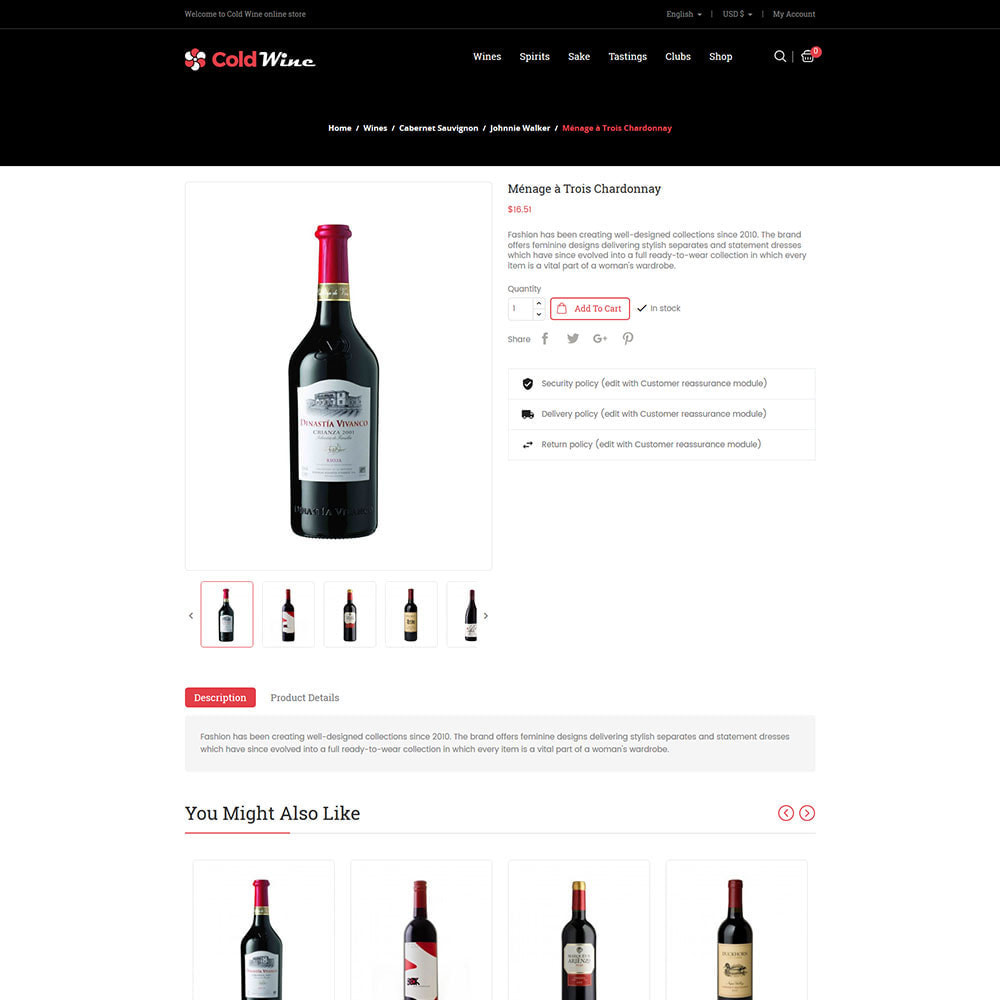 theme - Drank & Tabak - Cold Wine - Alcohol Drink Store - 5