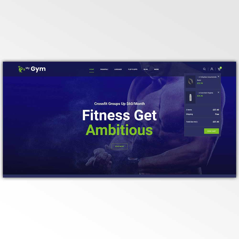 theme - Health & Beauty - Gym Fitness Store - 9