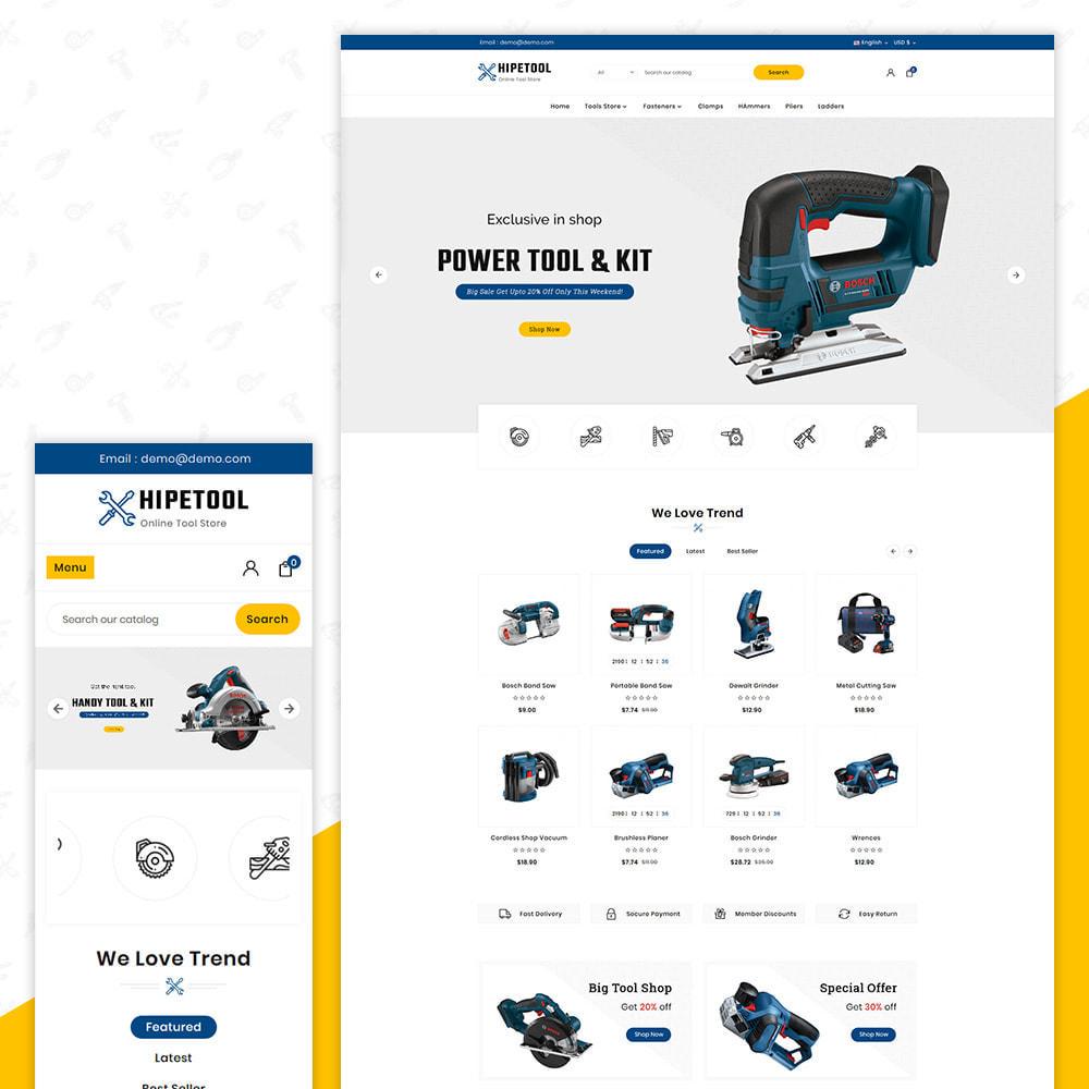 theme - Automotive & Cars - Tool Hipetool- Tools Mega Store - 1