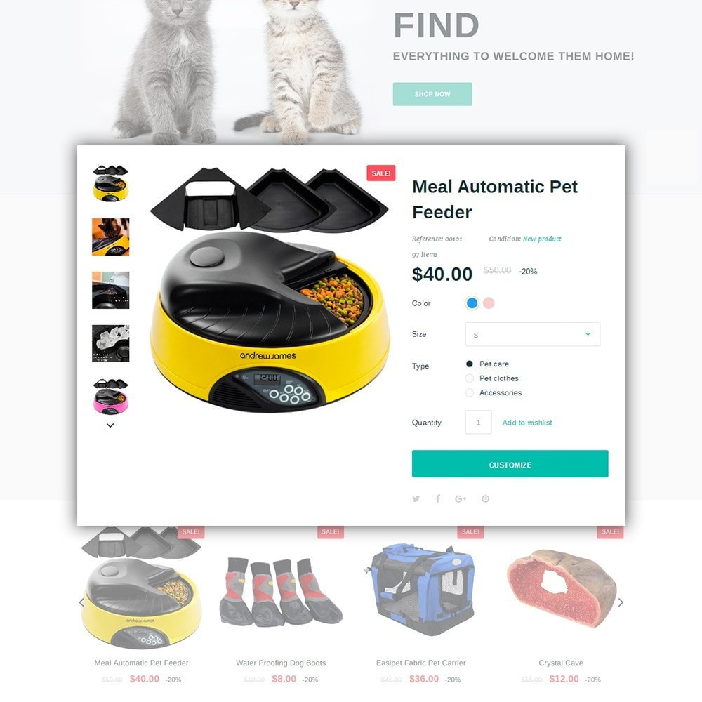 theme - Animals & Pets - Pawspot - Pets Store - 4