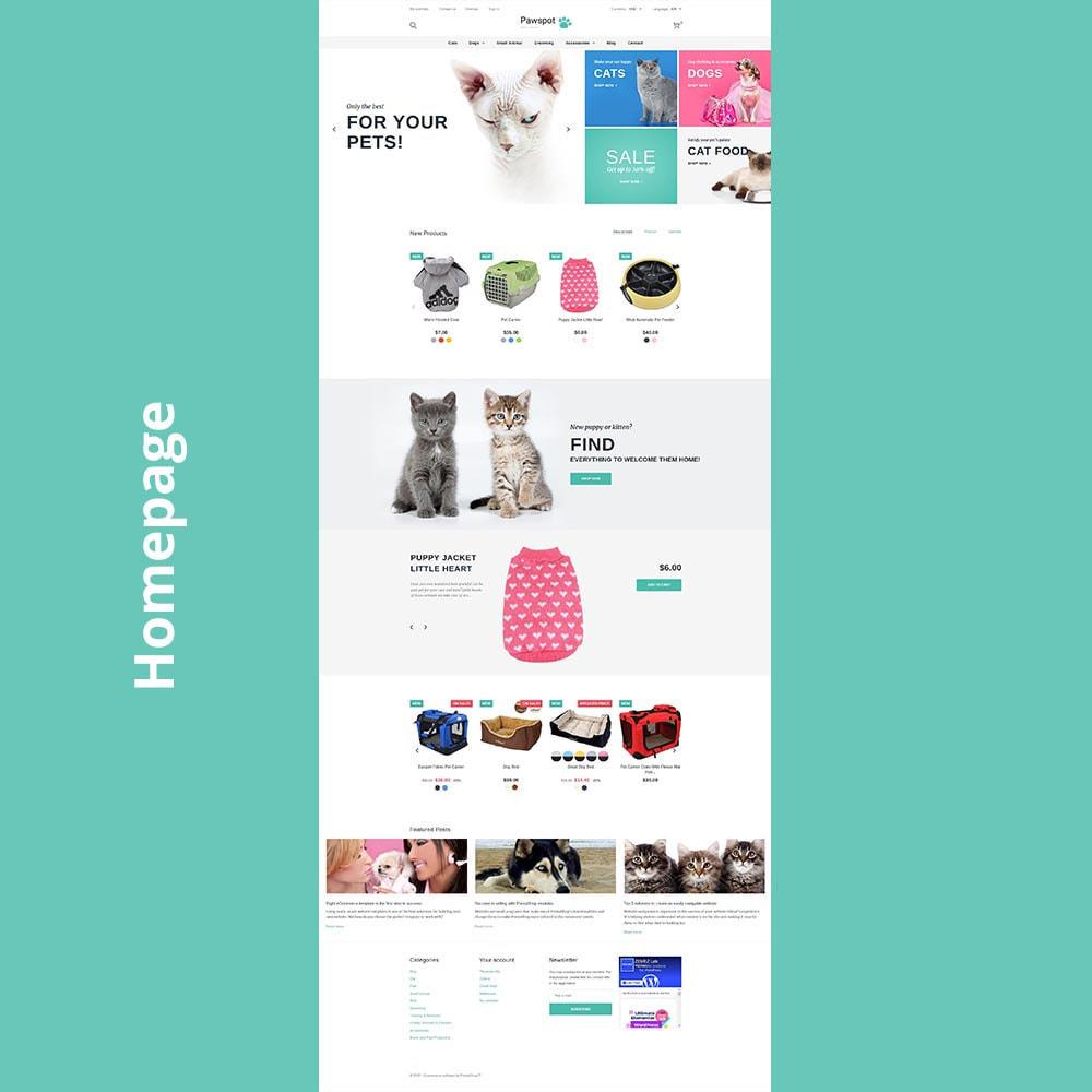theme - Animaux - Pawspot - Pets Store - 7