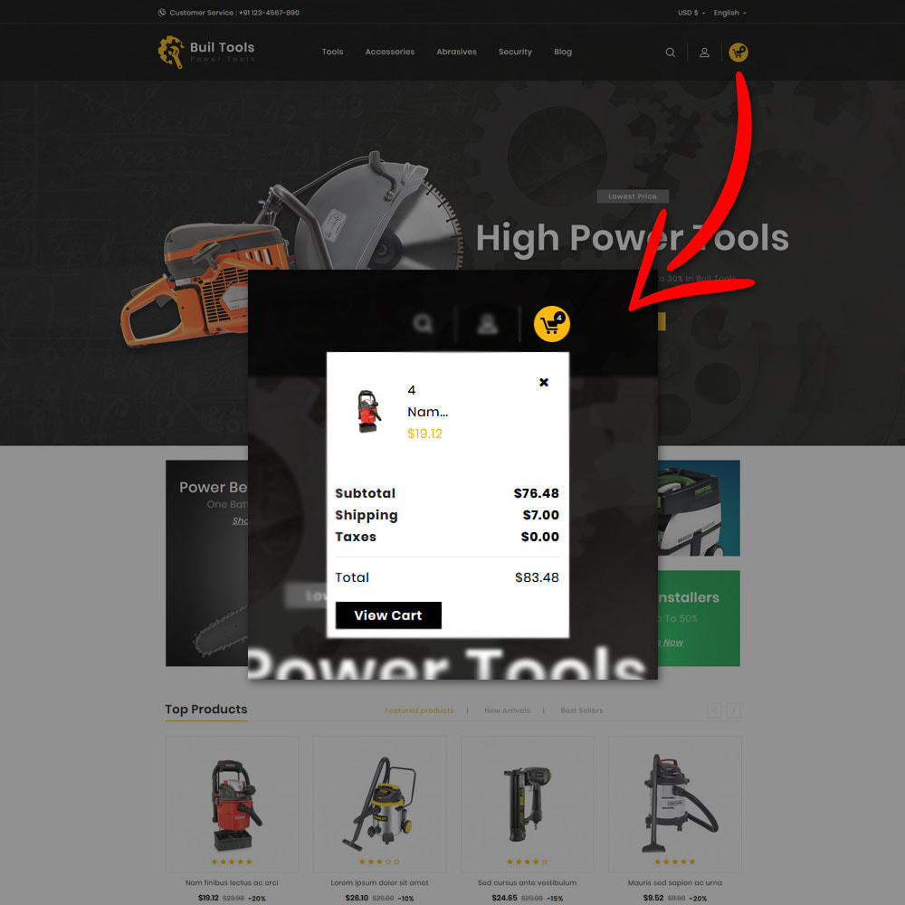 theme - Automotive & Cars - Buil Tool Power Store - 6