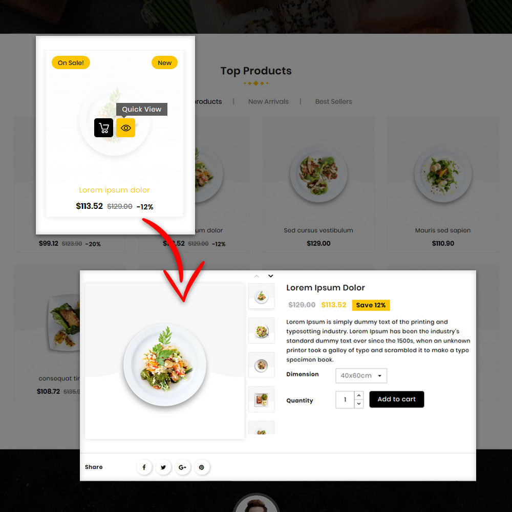 theme - Eten & Restaurant - Fast Foodies Shop - 6