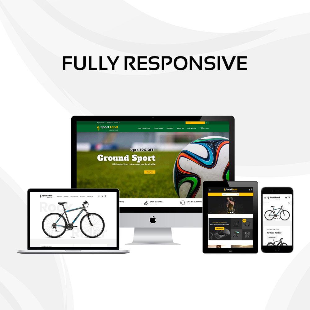 theme - Sport, Loisirs & Voyage - Sport Land - Le magasin de sport Mega - 4