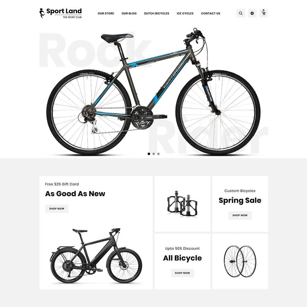 theme - Sport, Loisirs & Voyage - Sport Land - Le magasin de sport Mega - 6