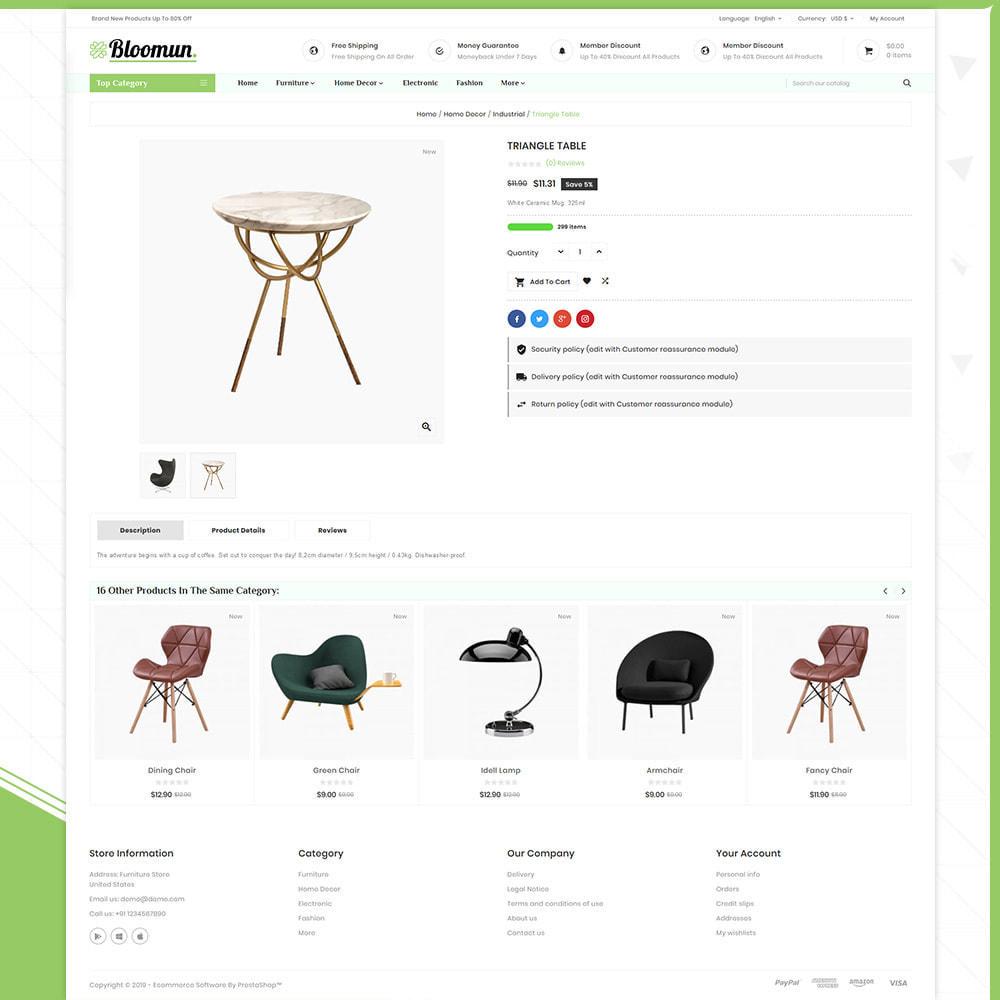 theme - Home & Garden - Digital  Furniture –Bloomun Furniture Store - 4