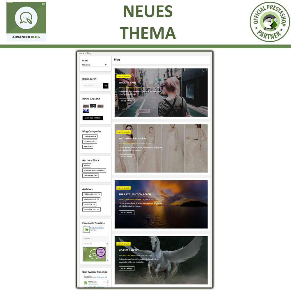 module - Blog, Forum & News - Responsives Professionelles Blog, SEO-Freundliches Blog - 3