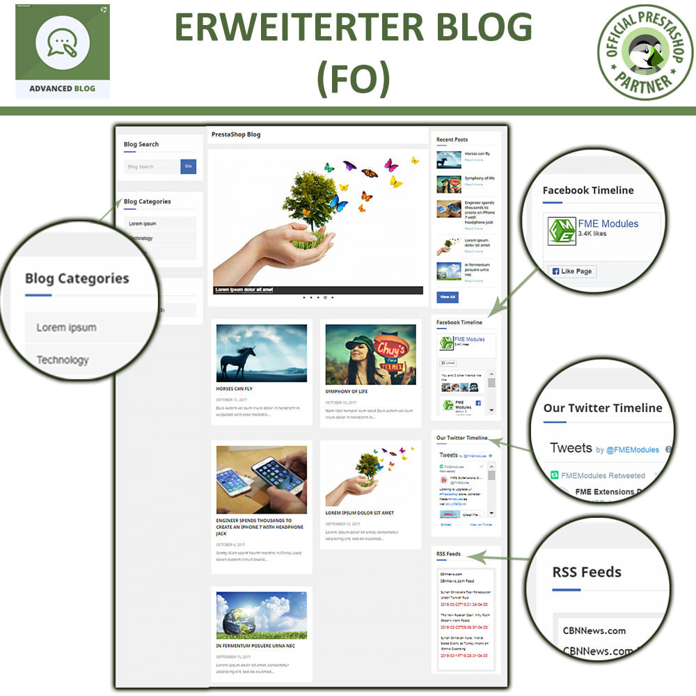 module - Blog, Forum & News - Responsives Professionelles Blog, SEO-Freundliches Blog - 11