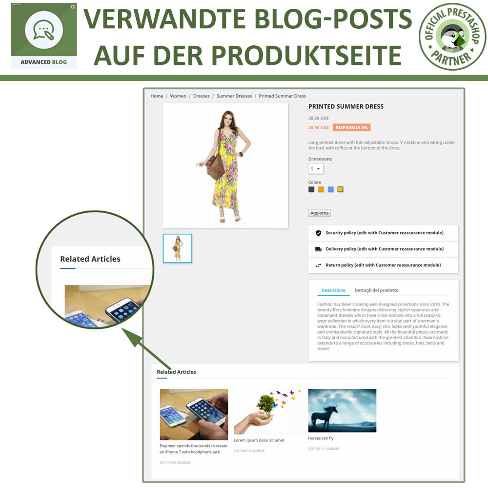 module - Blog, Forum & News - Responsives Professionelles Blog, SEO-Freundliches Blog - 13