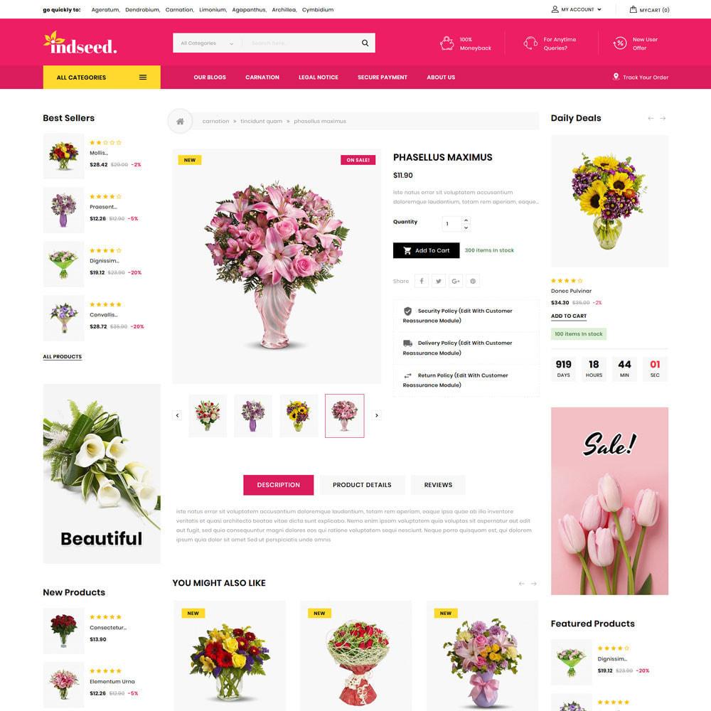 theme - Regalos, Flores y Celebraciones - Indseed - La tienda de ramo online - 8