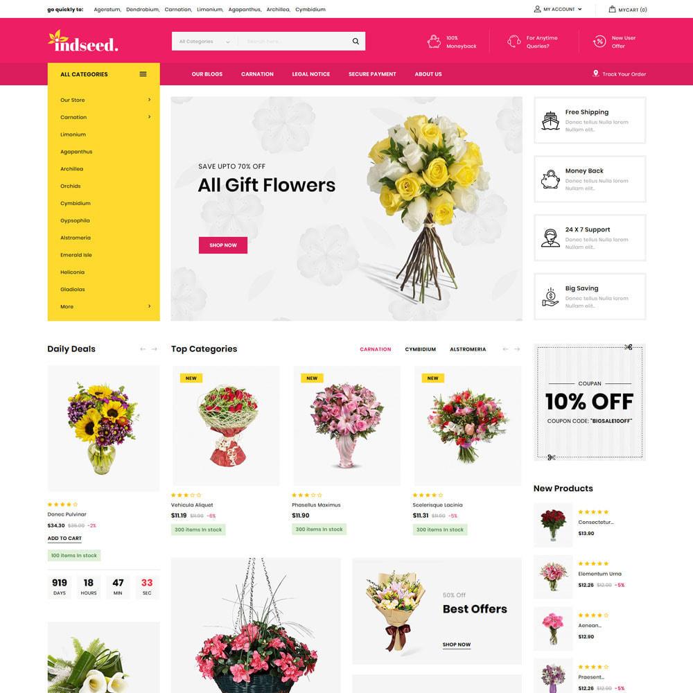 theme - Regali, Fiori & Feste - Indseed - Il negozio di bouquet online - 5