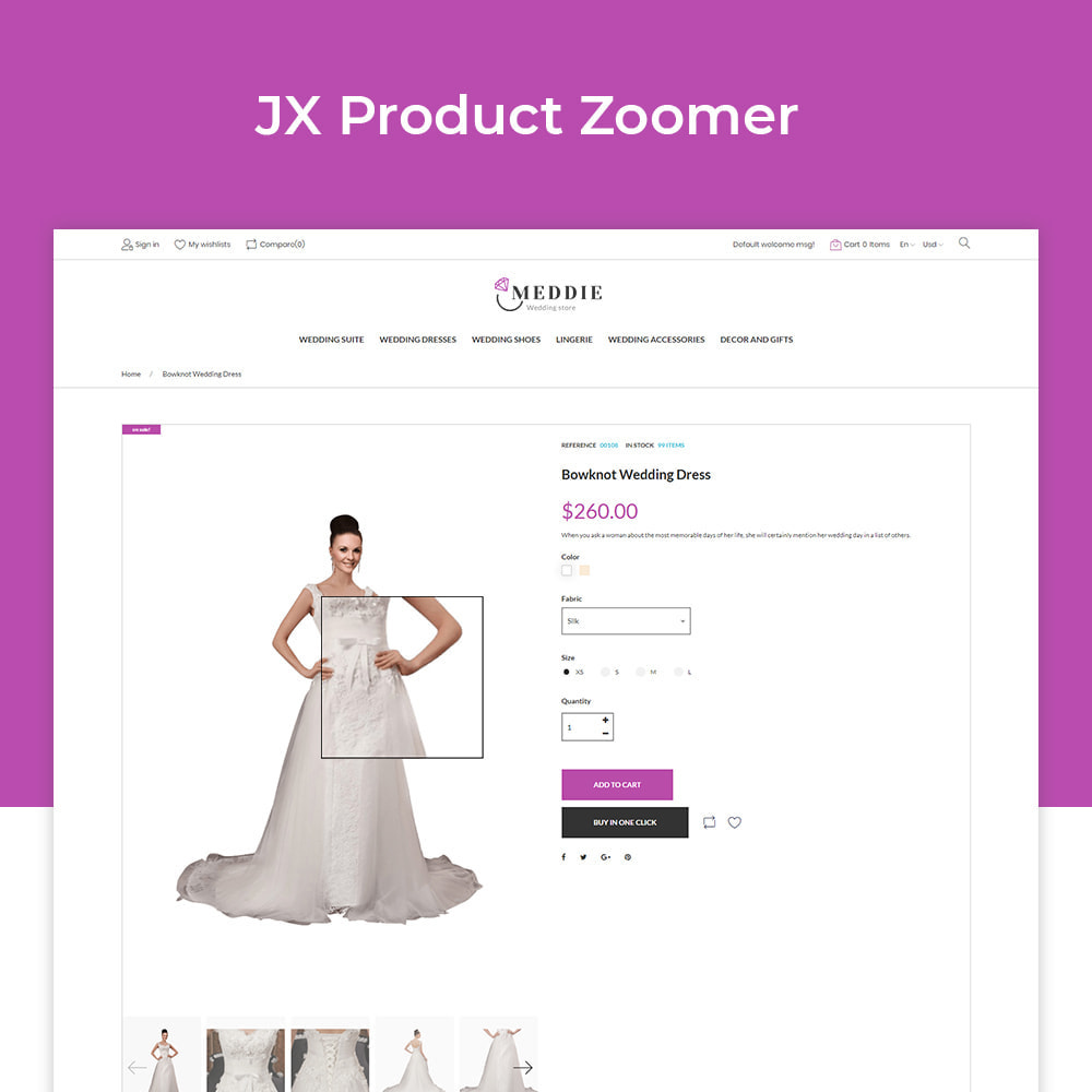 theme - Мода и обувь - Meddie - Wedding Shop - 3