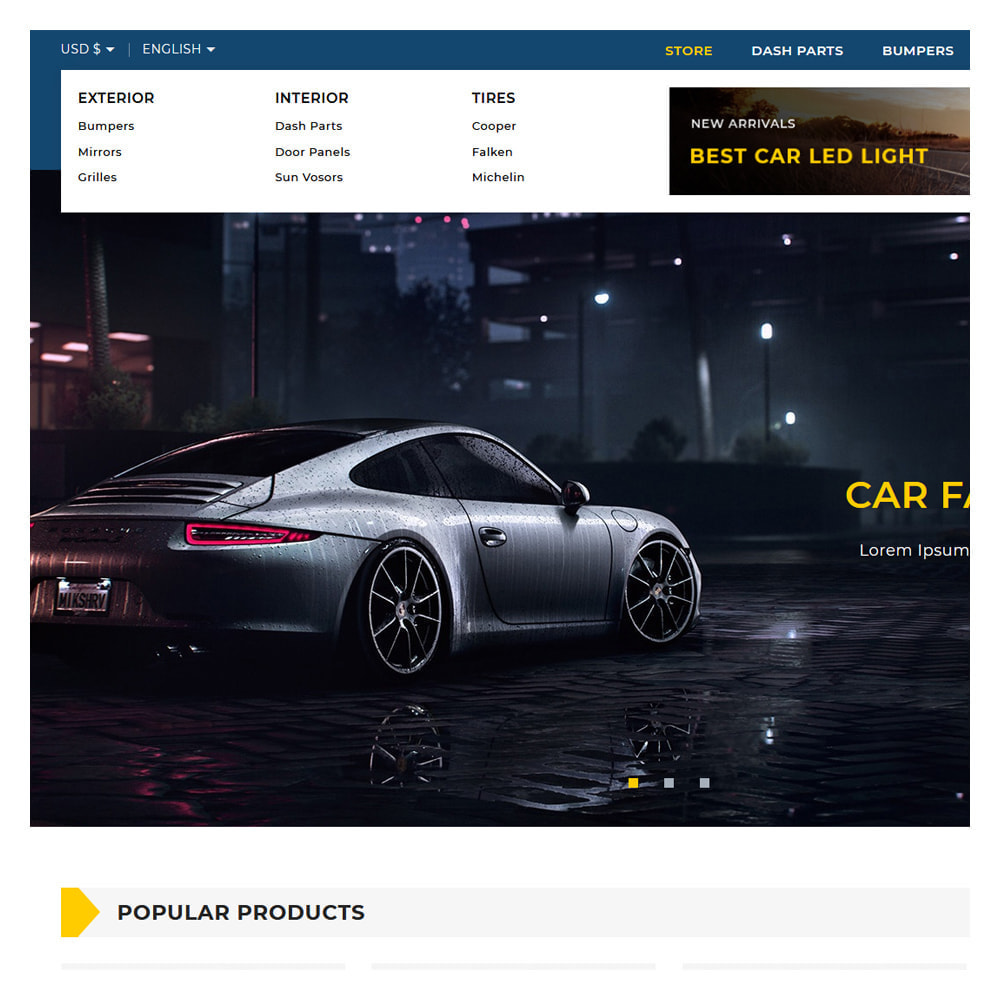 theme - Automotive & Cars - Motomac Automotive & Cars Store - 7