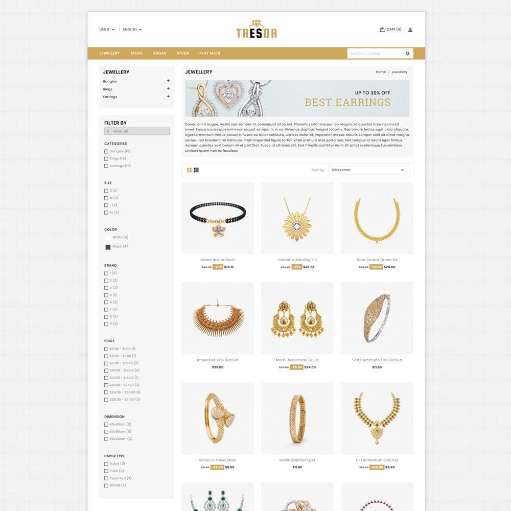theme - Jewelry & Accessories - Tresor Jewellery & Accesories Store - 3