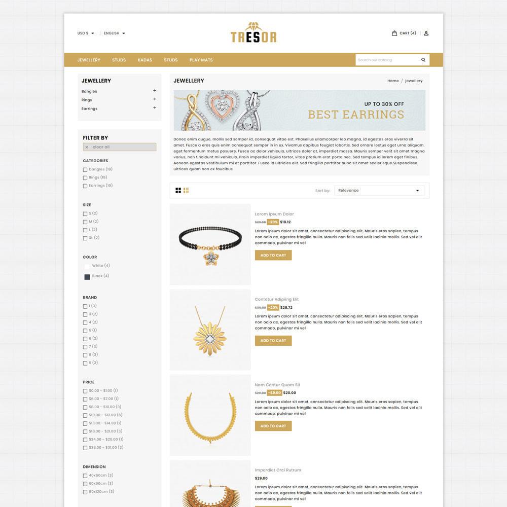theme - Jewelry & Accessories - Tresor Jewellery & Accesories Store - 4