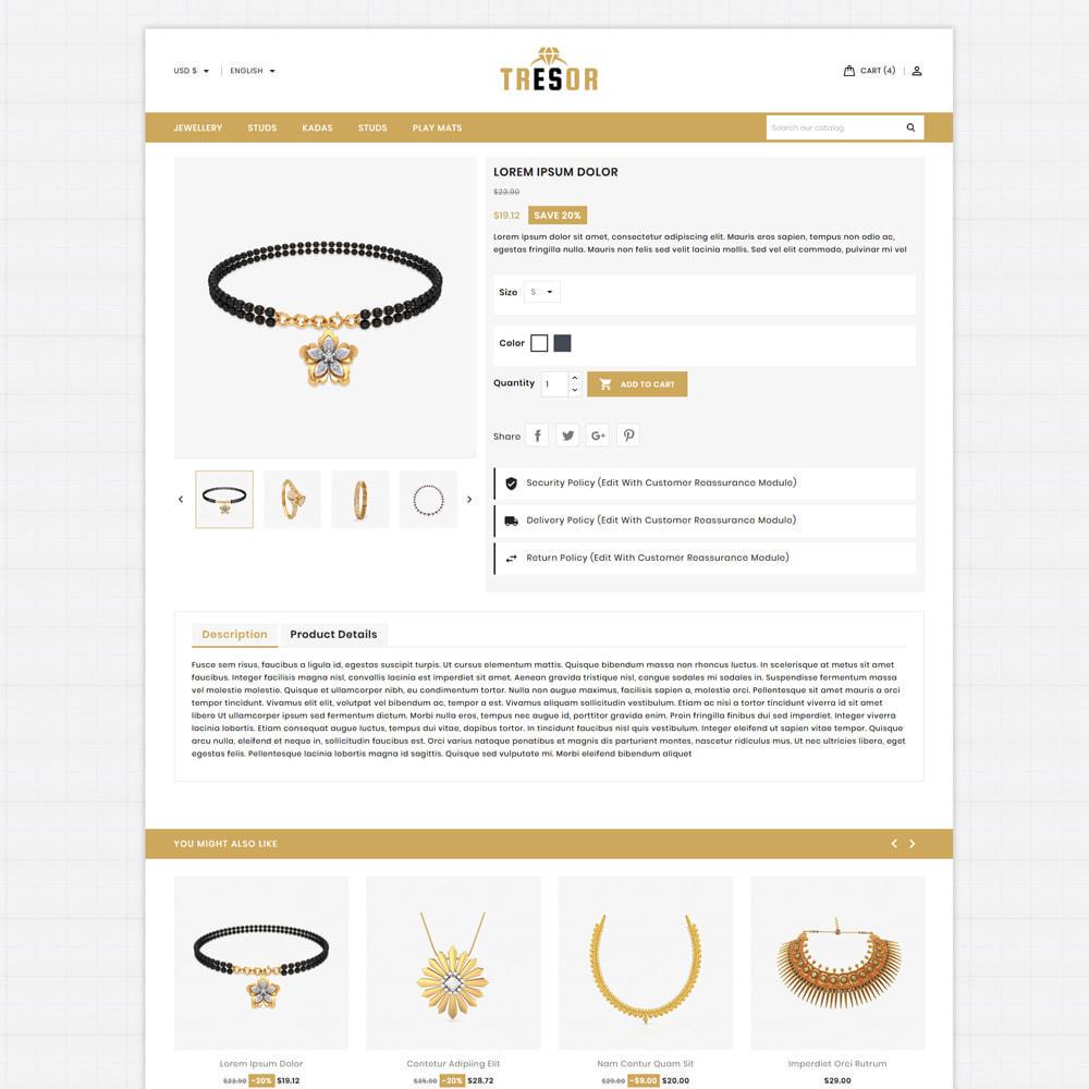 theme - Jewelry & Accessories - Tresor Jewellery & Accesories Store - 5