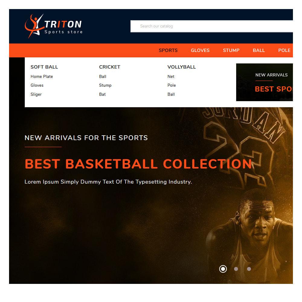 theme - Sport, Loisirs & Voyage - Triton Sport & Activities Store - 8
