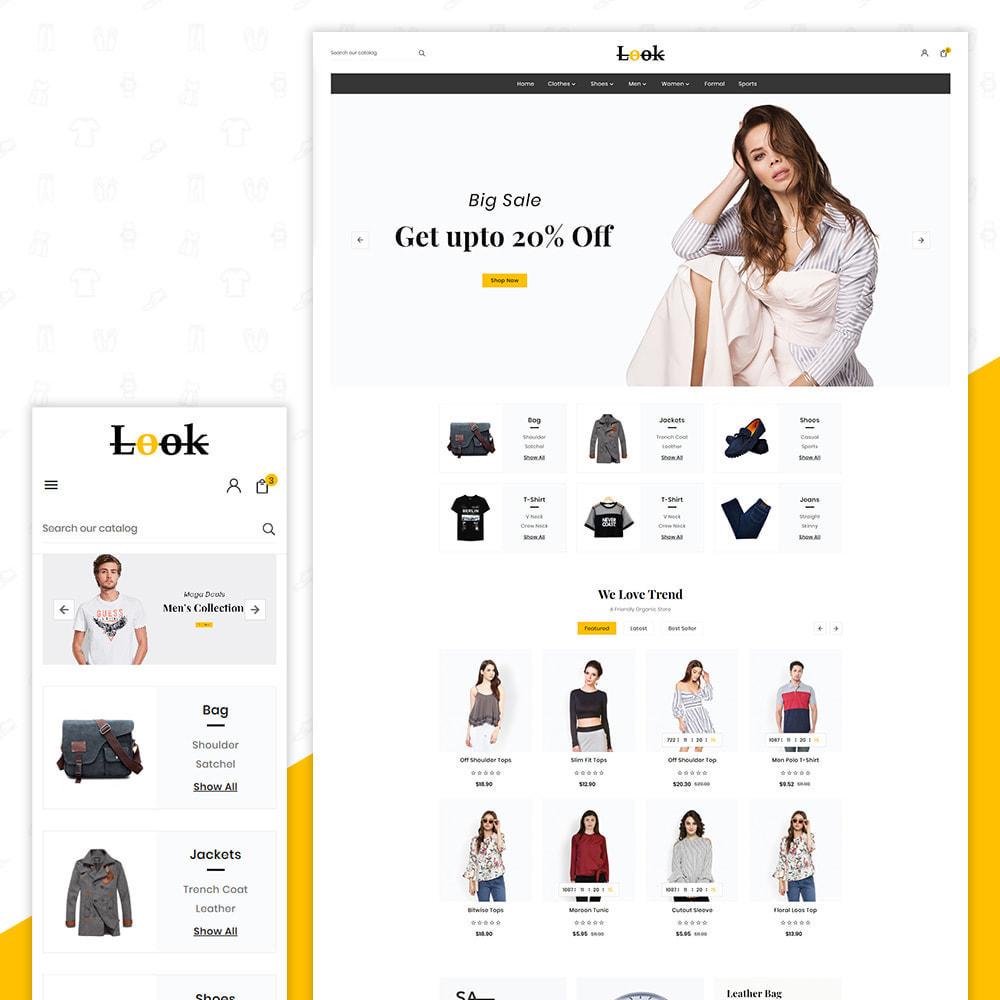 theme - Fashion & Shoes - Look Fashion Big Mall - 1