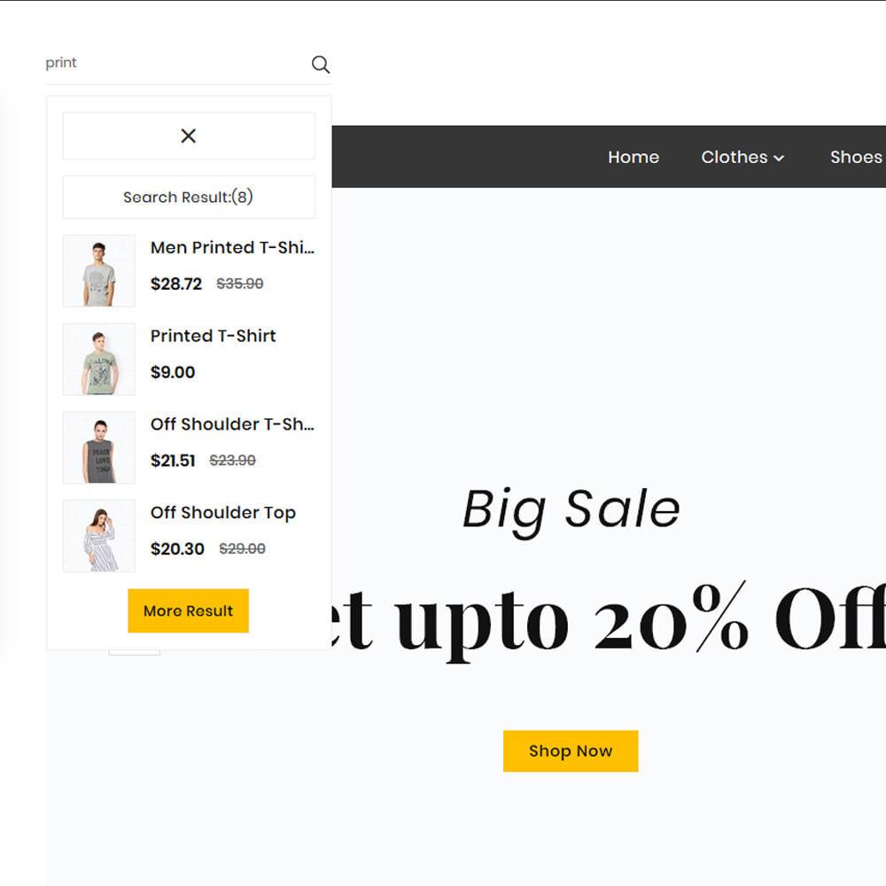 theme - Fashion & Shoes - Look Fashion Big Mall - 8