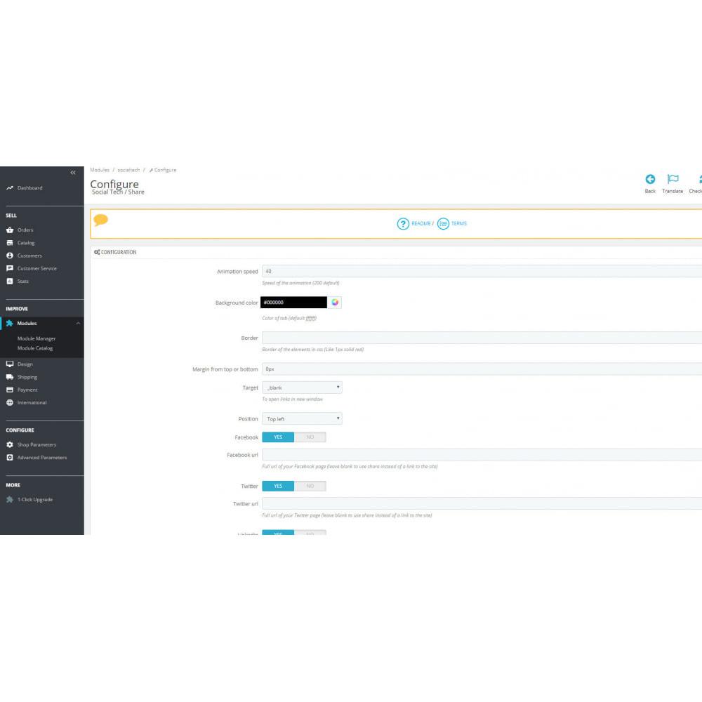 module - Compartir contenidos y Comentarios - Social Tech (social networks+Whatsapp+Skype) - 6