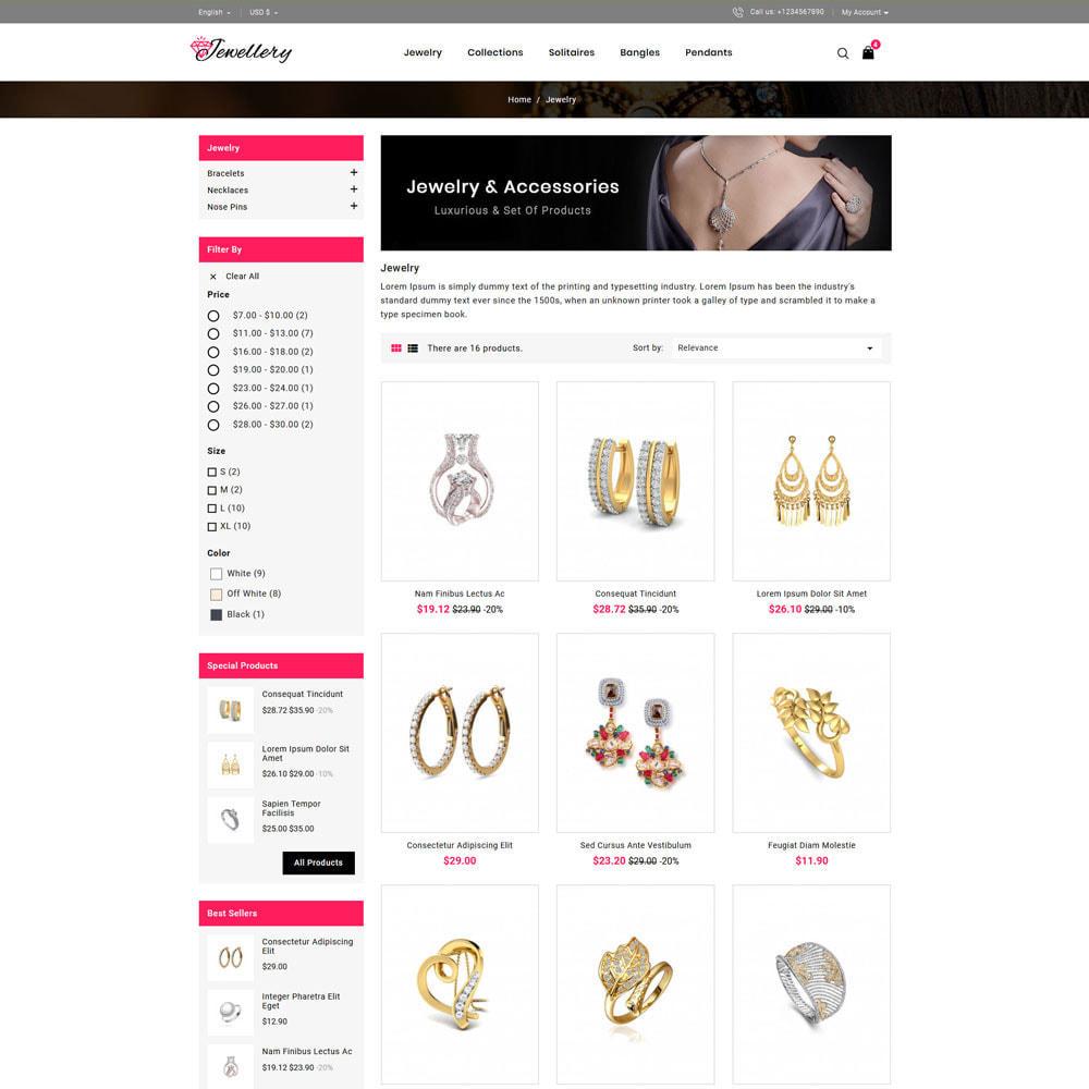 theme - Bijoux & Accessoires - Jwellery Shop - 3