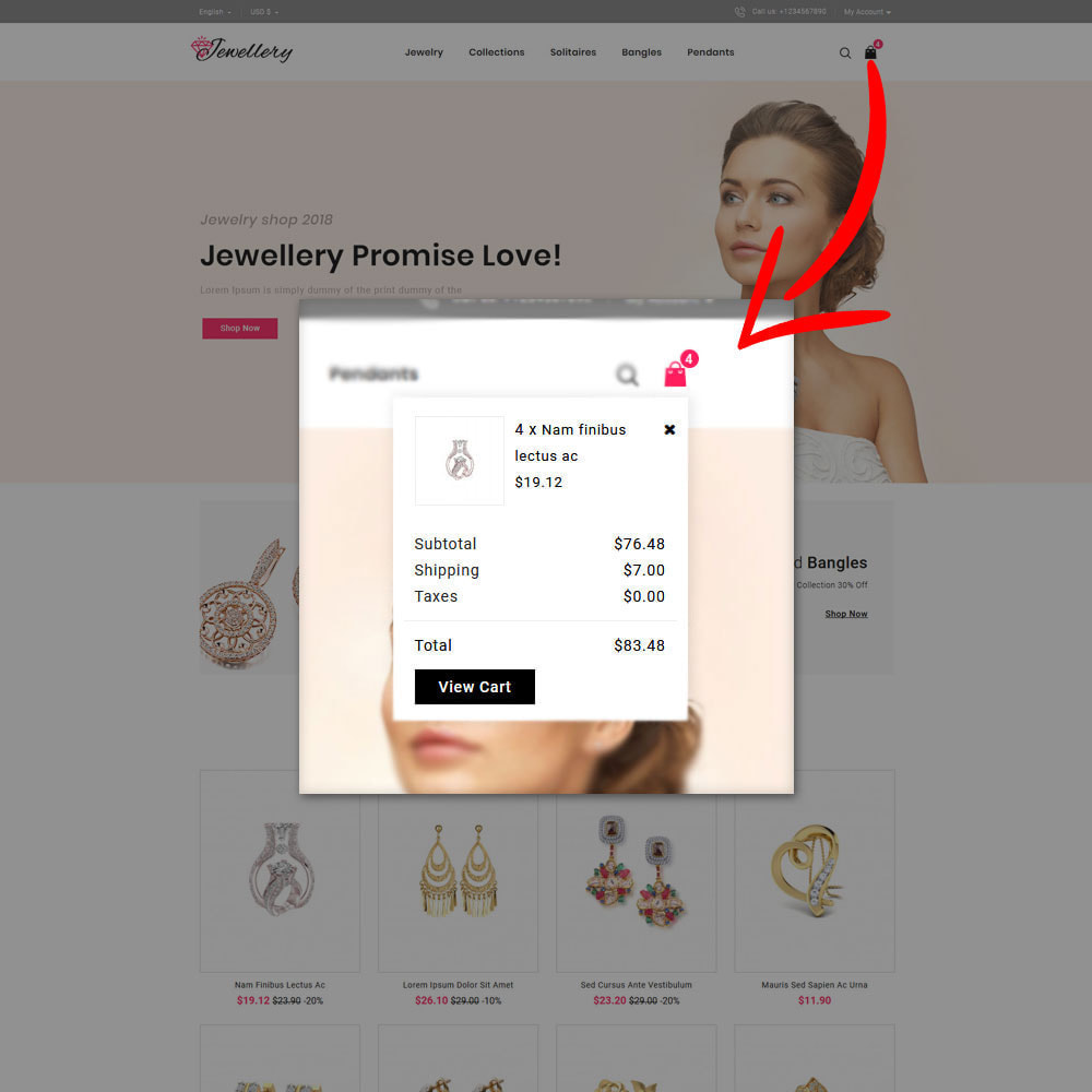 theme - Bellezza & Gioielli - Jwellery Shop - 5