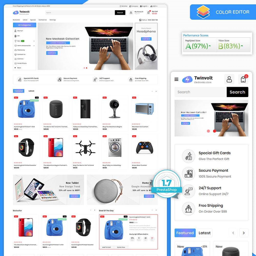 theme - Electrónica e High Tech - Twinvolt - Supermarket Hitech Store - 8
