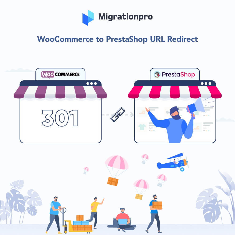 module - Data migration & Backup - MigrationPro: WooCommerce To PrestaShop SEO Redirect - 1