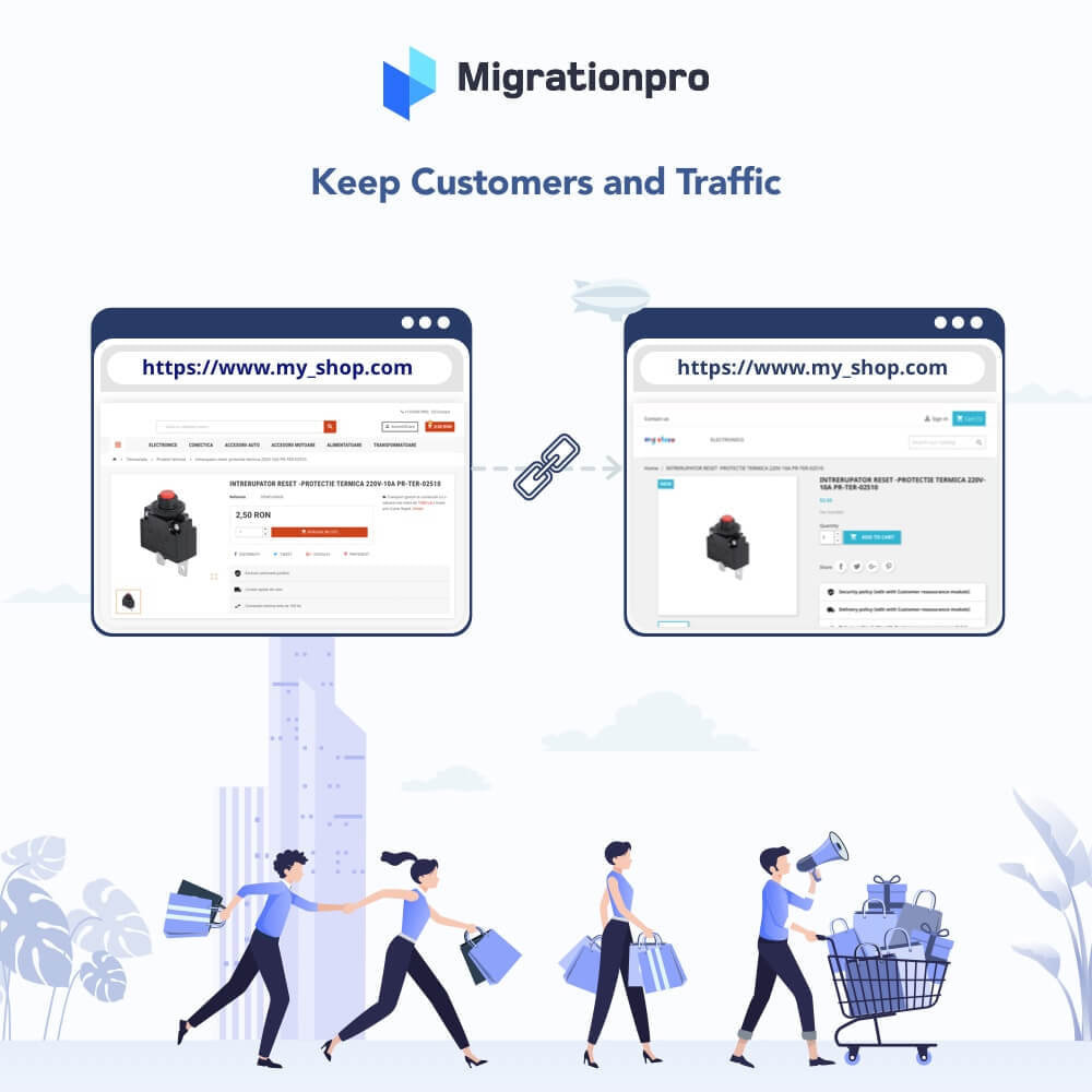 module - Миграции и сохранения данных - MigrationPro: WooCommerce To PrestaShop SEO Redirect - 4