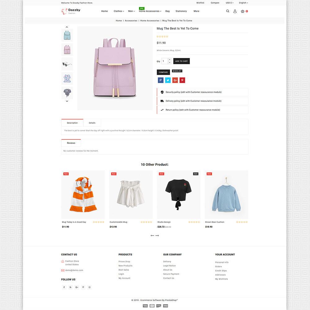 theme - Fashion & Shoes - Dozzby - Fashion & Clothing Store - 4