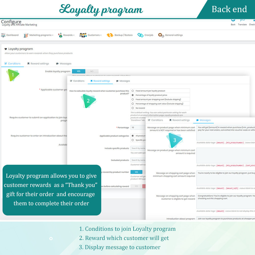 module - Empfehlungs- & Kundenbindungsprogramme - Loyalty, referral & affiliate program (reward points) - 12