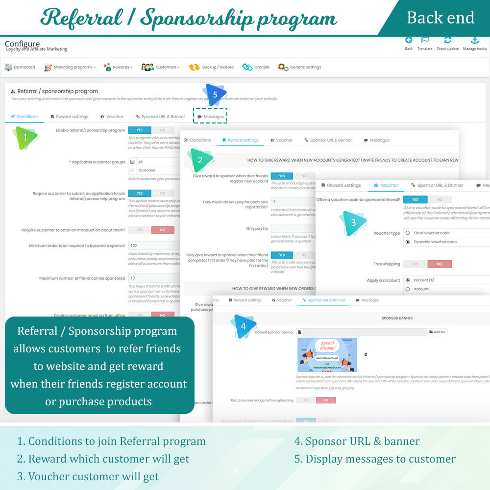 module - Referral & Loyalty Programs - Loyalty, referral & affiliate program (reward points) - 13
