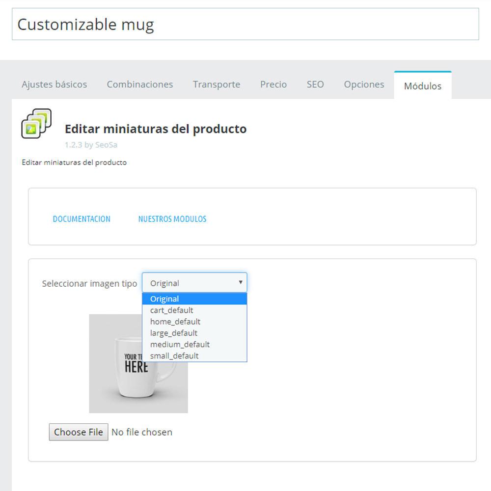 module - Fotos de productos - Editor - sustitución de miniaturas - 4