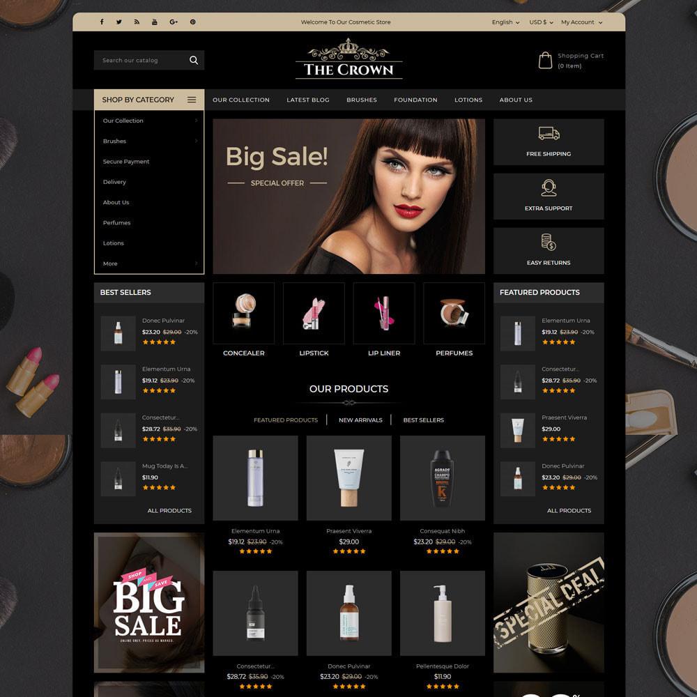 theme - Bellezza & Gioielli - Crown - Il negozio di gioielli - 3