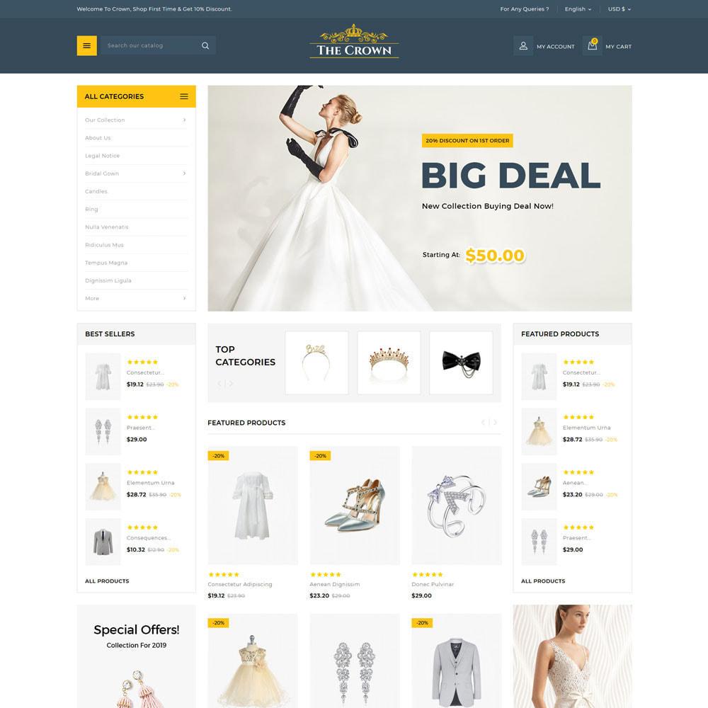 theme - Bellezza & Gioielli - Crown - Il negozio di gioielli - 7