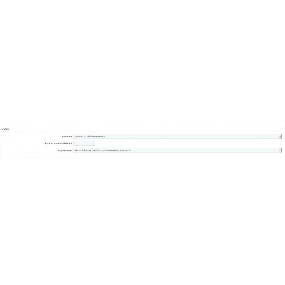 module - Information supplémentaire & Onglet produit - Remplacement et croisement de produits - 6