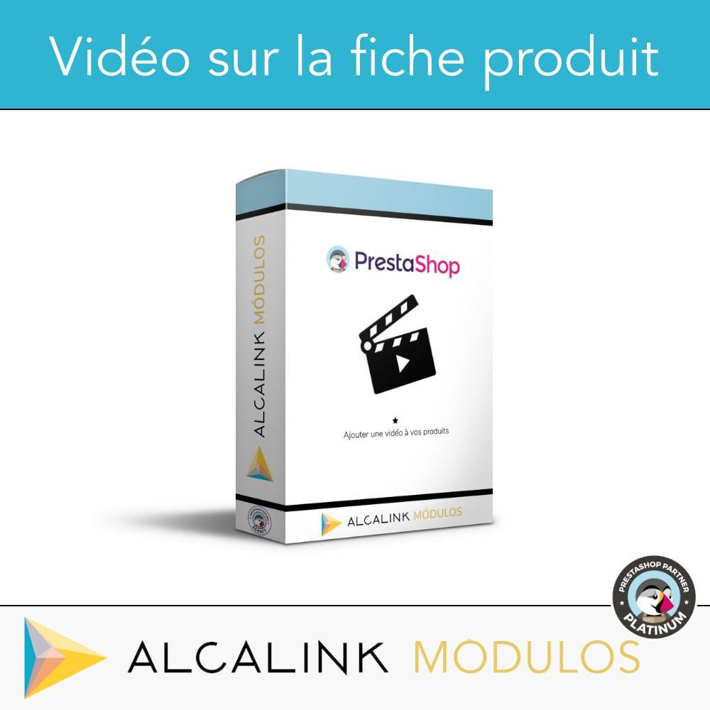 module - Vidéo & Musique - Vidéo sur la Fiche Produit - Youtube, Dailymotion... - 1