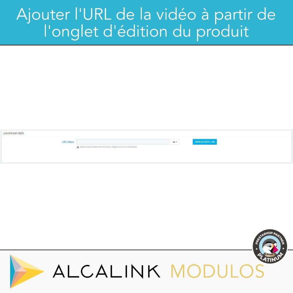 module - Vidéo & Musique - Vidéo sur la Fiche Produit - Youtube, Dailymotion... - 7