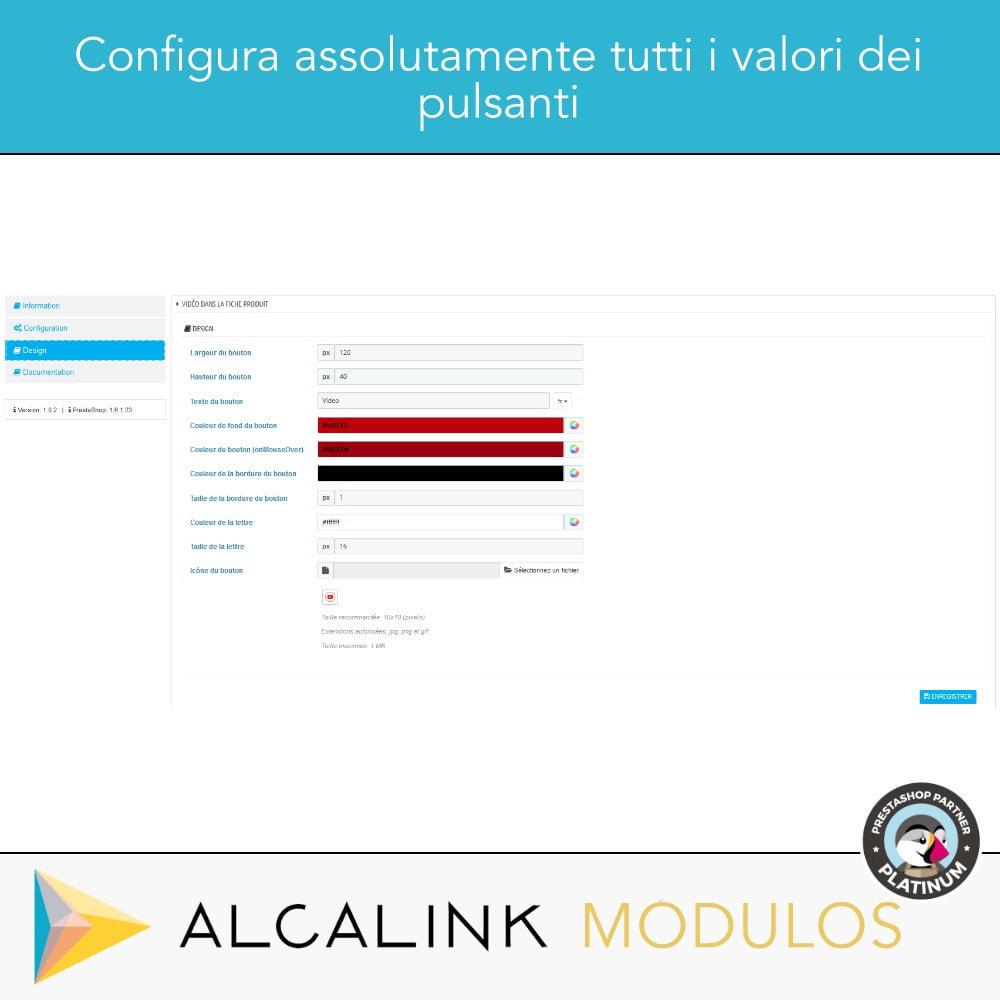 module - Video & Musica - Video nel schede del prodotto - Youtube, Dailymotion... - 3