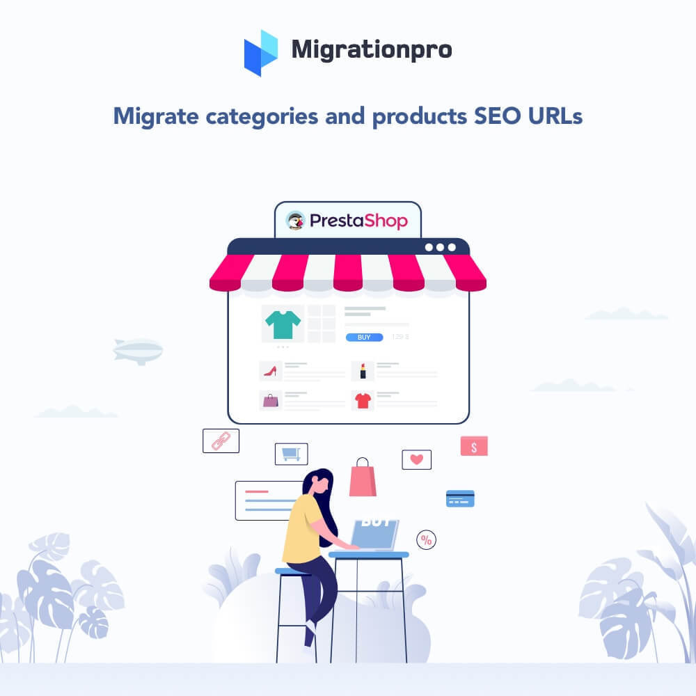 module - Data migration & Backup - MigrationPro: Magento to PrestaShop SEO Redirect - 2