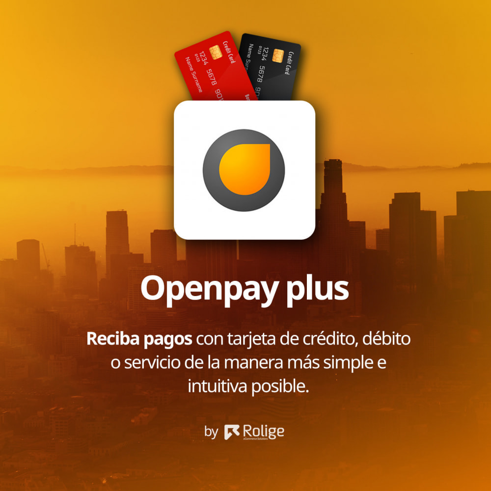 module - Pago con Tarjeta o Carteras digitales - Openpay Plus - 2