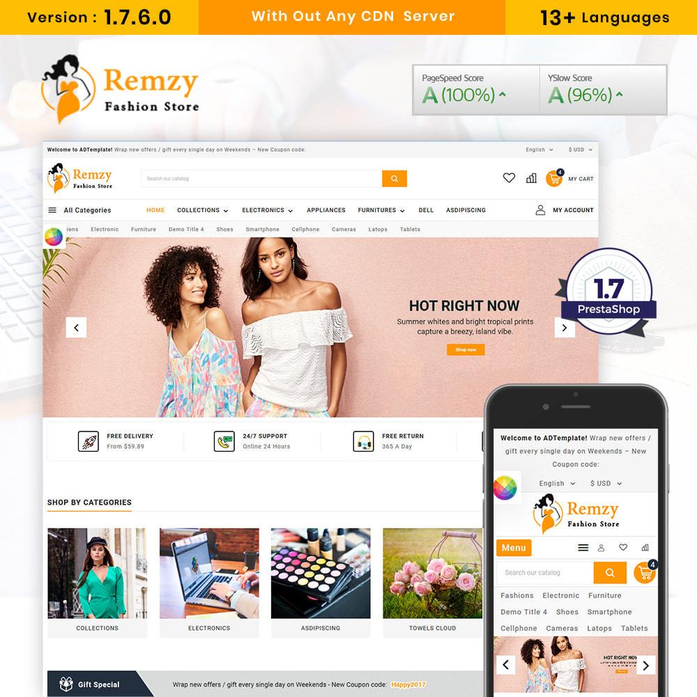 theme - Moda y Calzado - Remzy Fashion Store - 1