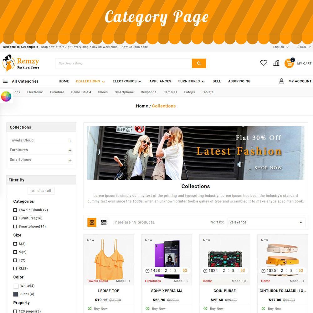theme - Moda y Calzado - Remzy Fashion Store - 2