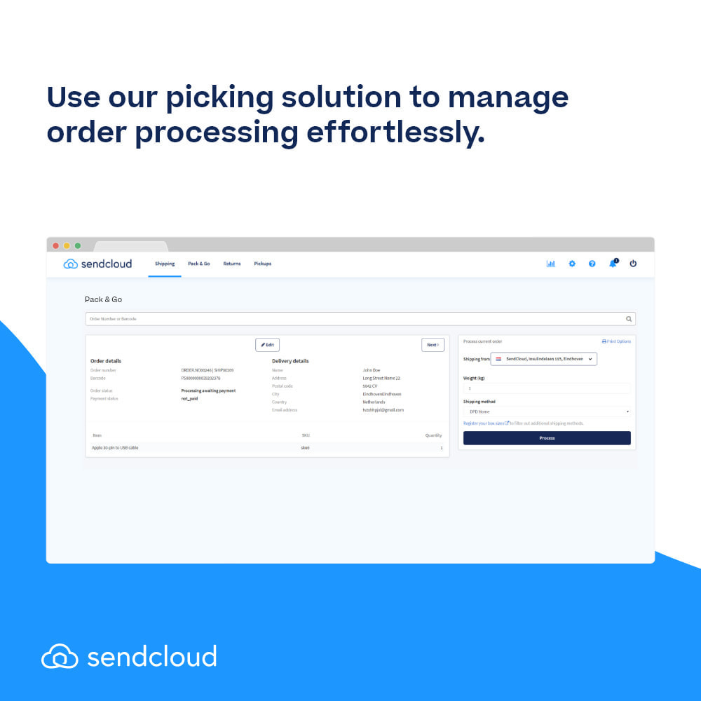 module - Shipping Carriers - SendCloud | Europe's Number 1 Shipping Tool - 8