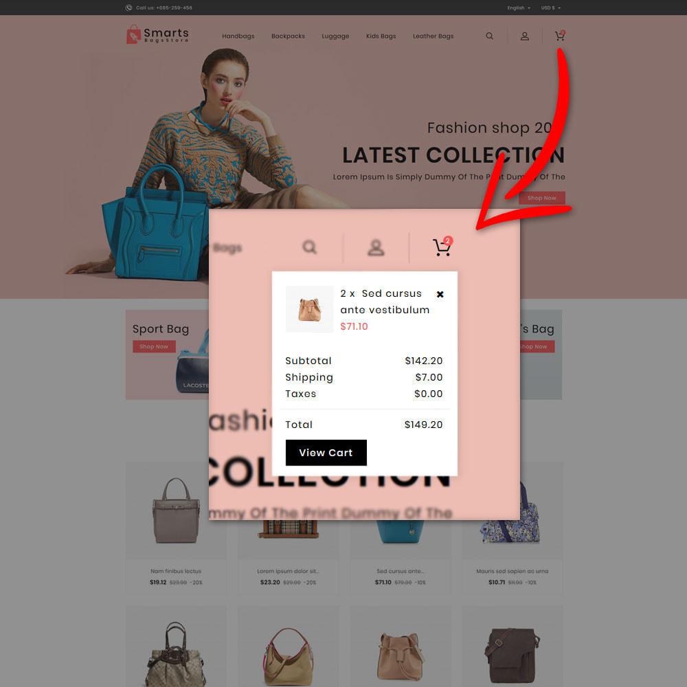 theme - Fashion & Shoes - Smart Bag's Shop - 7